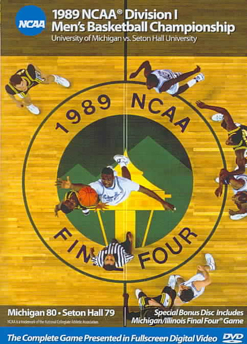 1989 MICHIGAN VS SETON HALL (DVD)